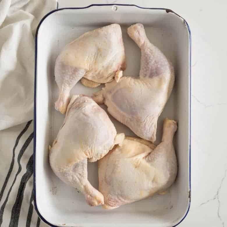 How Long to Bake Chicken Leg Quarters