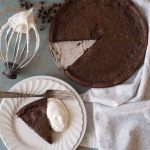 A simple yet very impressive rich and fudgy flourless chocolate cake recipe that is made with common ingredients, done in less than 30 minutes- and it's naturally gluten free.
