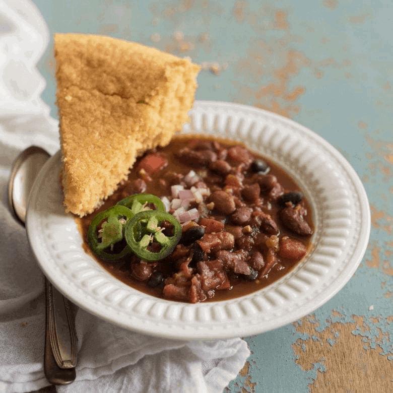 Instant Pot Vegetarian Chili The Best Chili Recipe