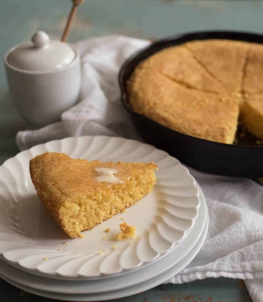 Fluffy & Sweet Cornbread Recipe