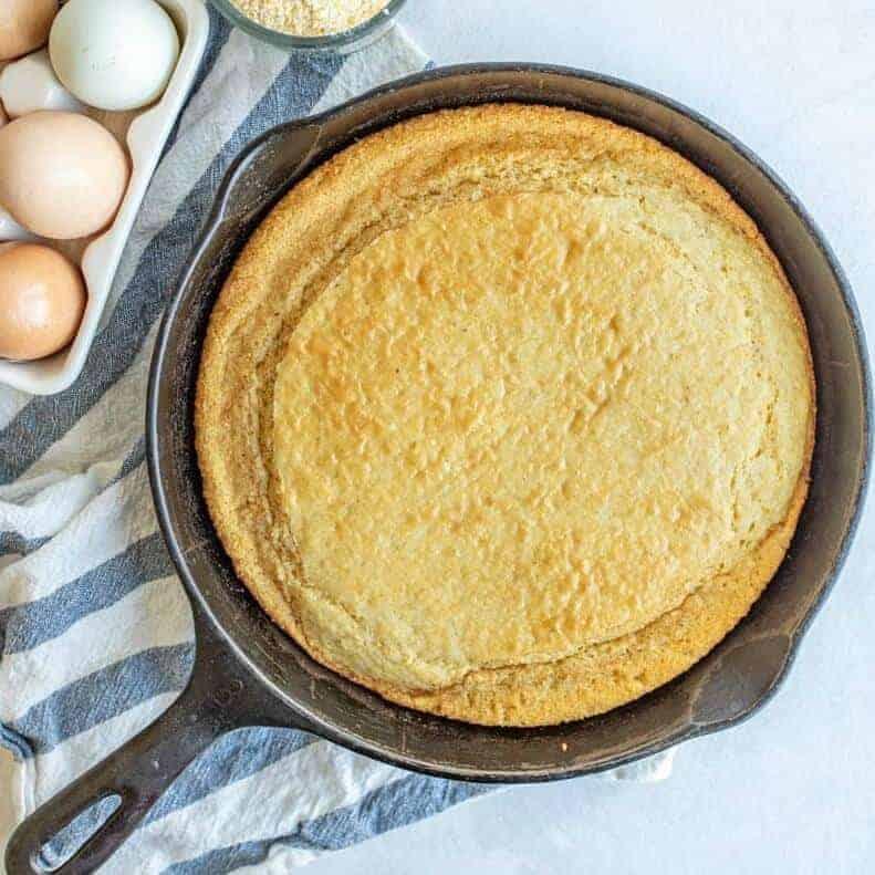 Picture of homemade cornbread