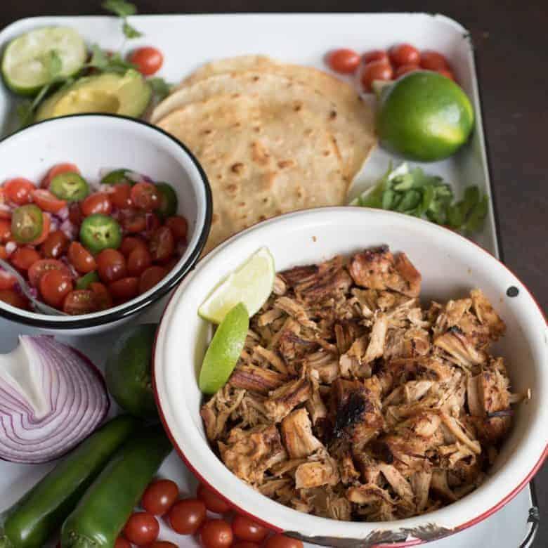 Easy Crispy Instant Pot Pork Taco Recipe