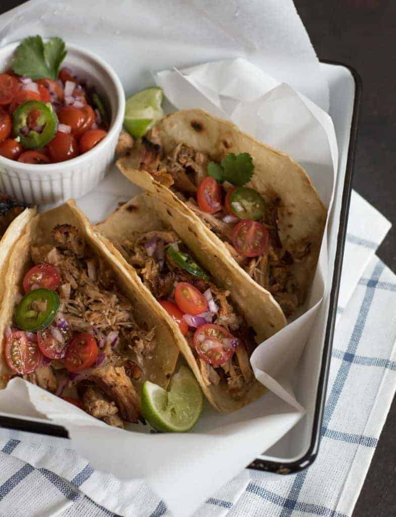 Image of Crispy Instant Pot Pork Tacos