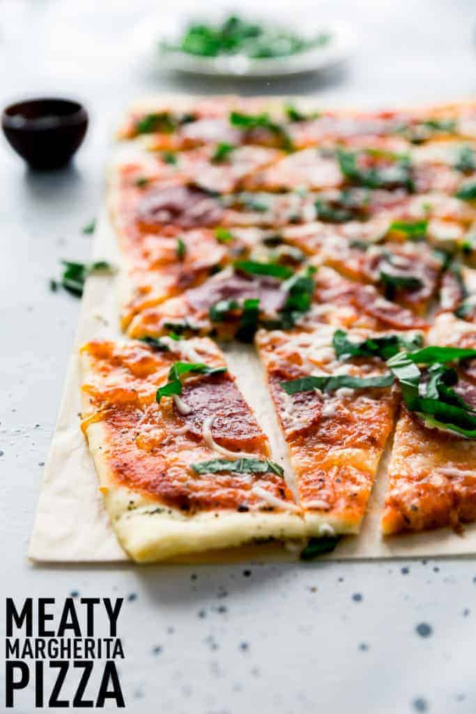 Image of Meaty Margherita Pizza