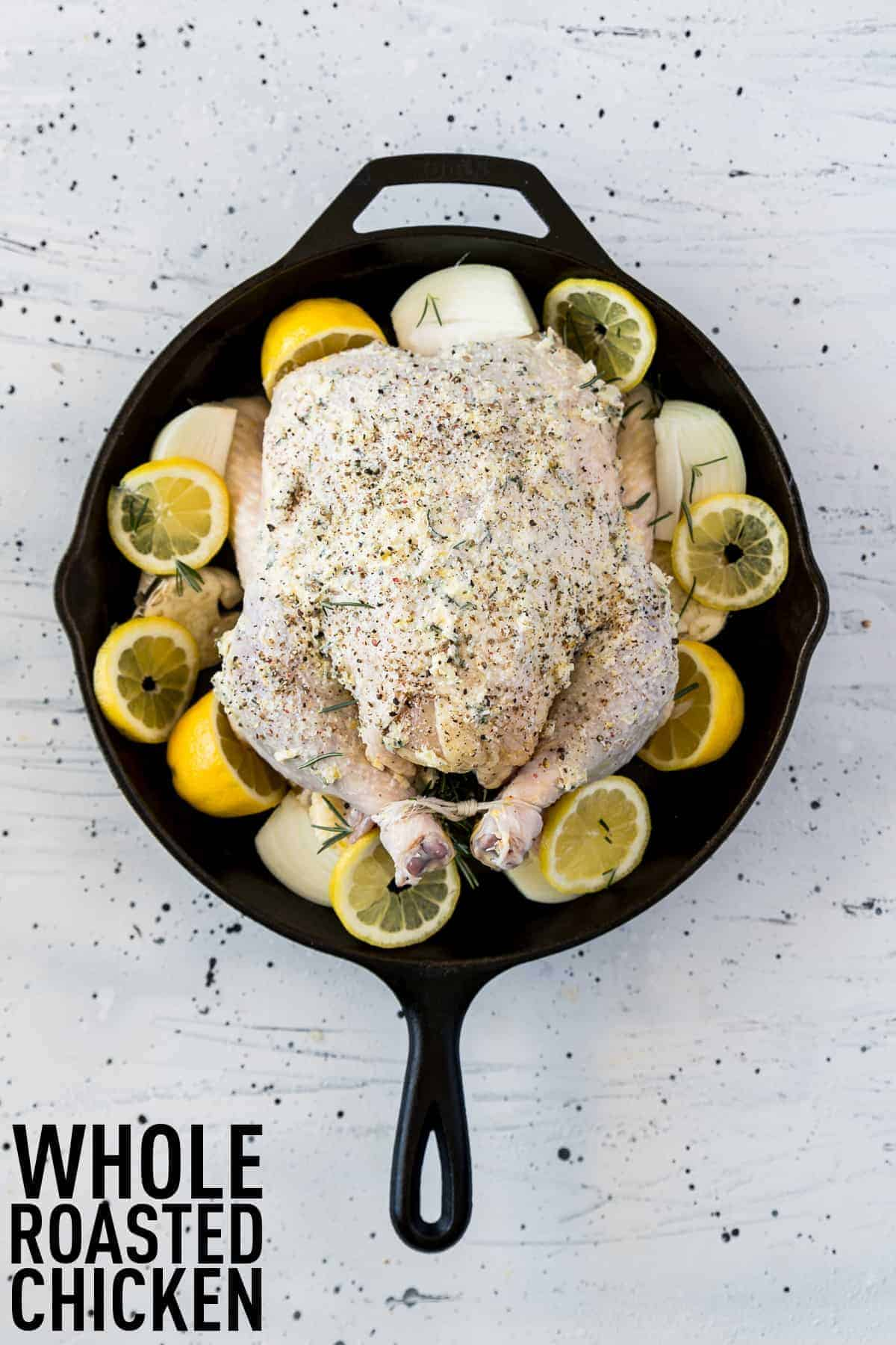How to cook a whole baked chicken in a few simple steps to yield a moist, flavor-packed chicken that you can serve for dinner any night of the week.