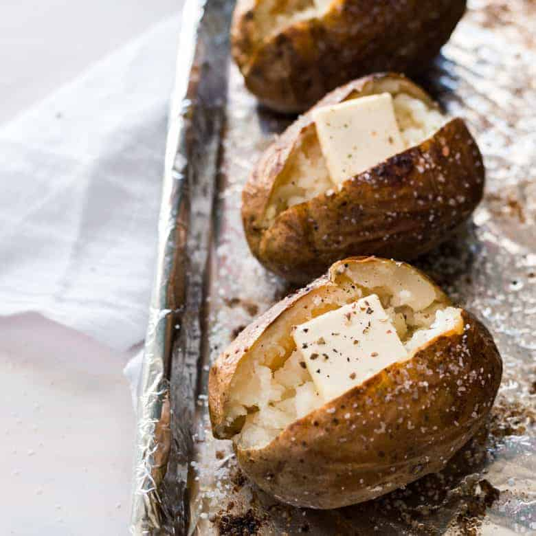 The Perfect Steakhouse Baked Potato