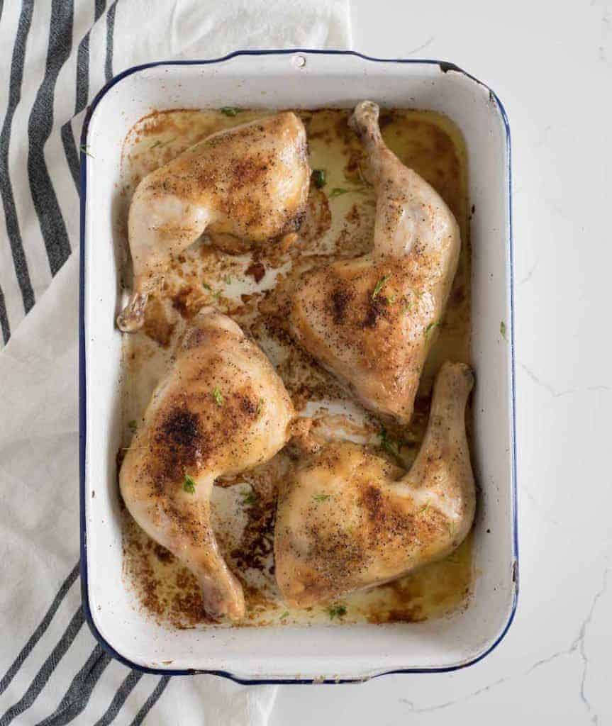 The Best Baked Chicken Leg Quarters | Easy Chicken Drumsticks Recipe