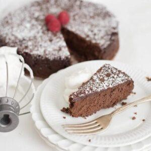 Image of flourless chocolate torte