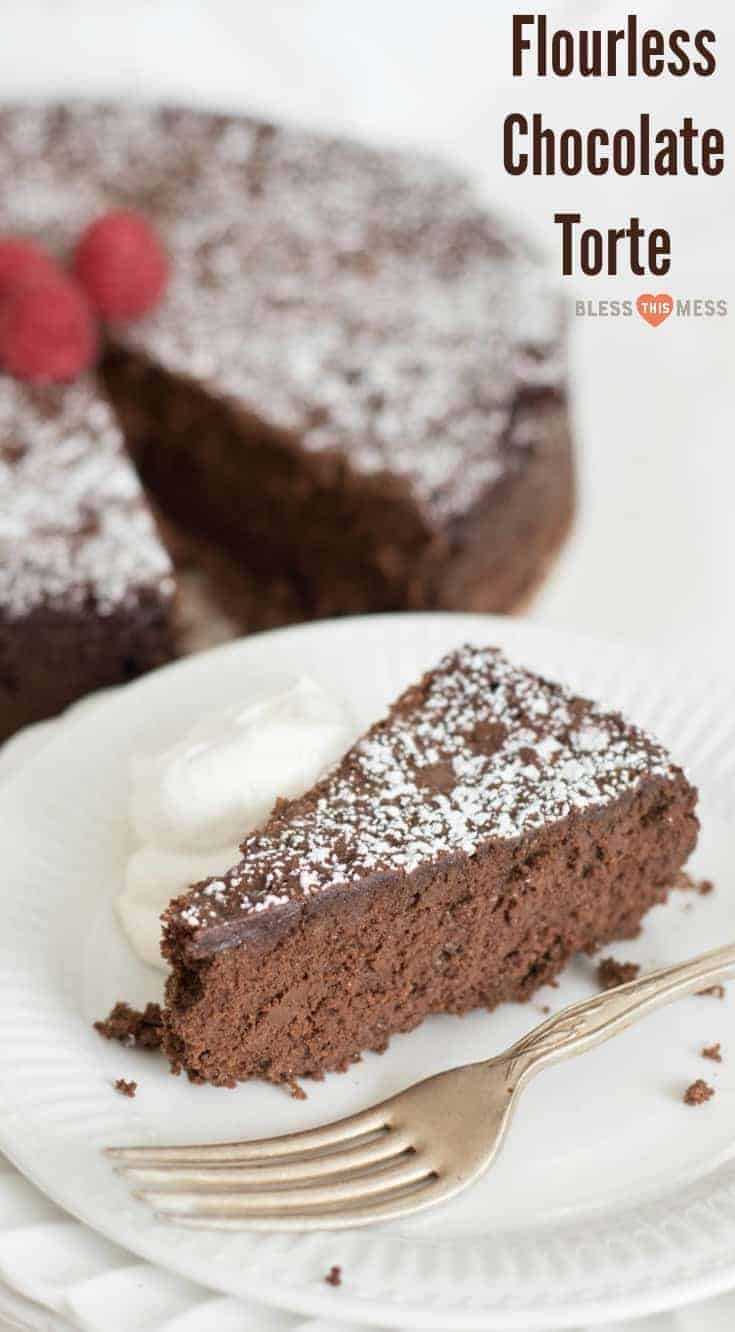 Light and fluffy chocolate cake made from just three simple ingredients. You won't believe how delicious this flourless chocolate torte is.