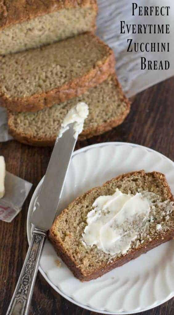 Image of Classic Zucchini Bread