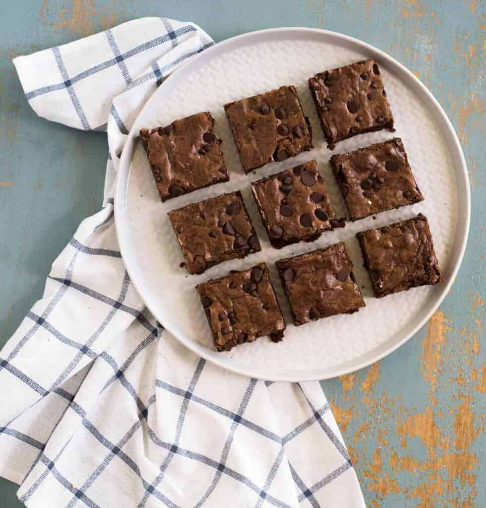 Image of Perfect Brownies From Above
