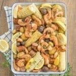 Image of instant pot shrimp boil
