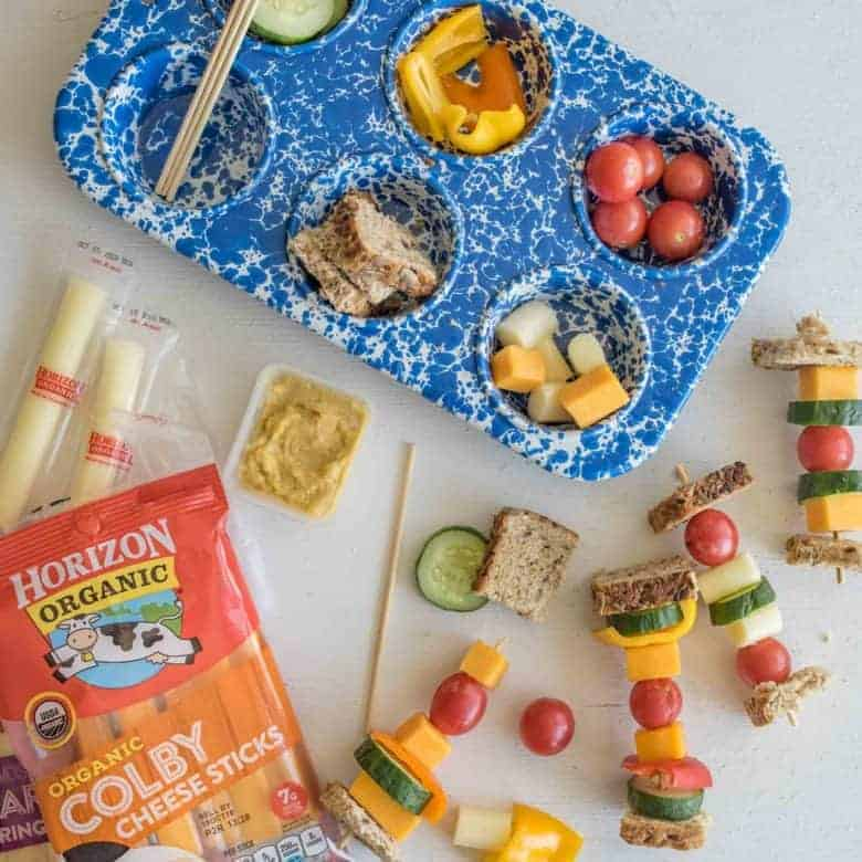 6 Easy Sandwich On A Stick Lunch Box Ideas For School