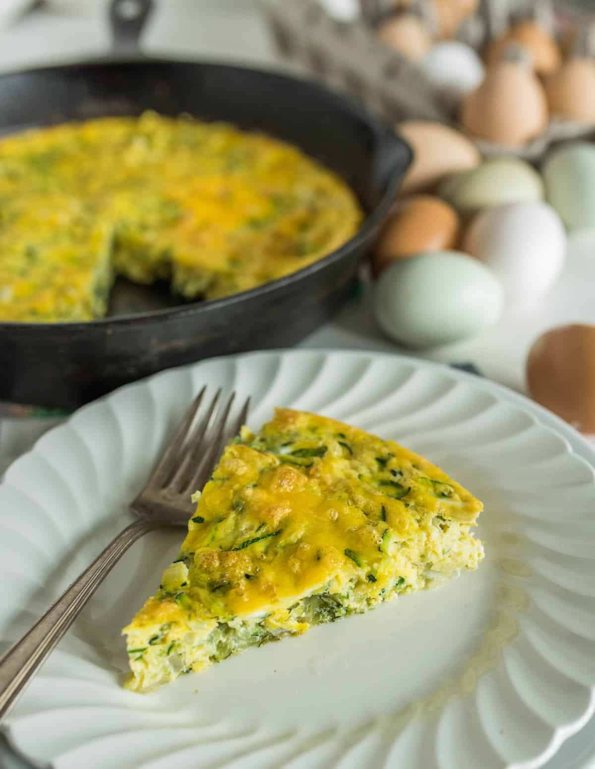 Image of Healthy Zucchini Bake