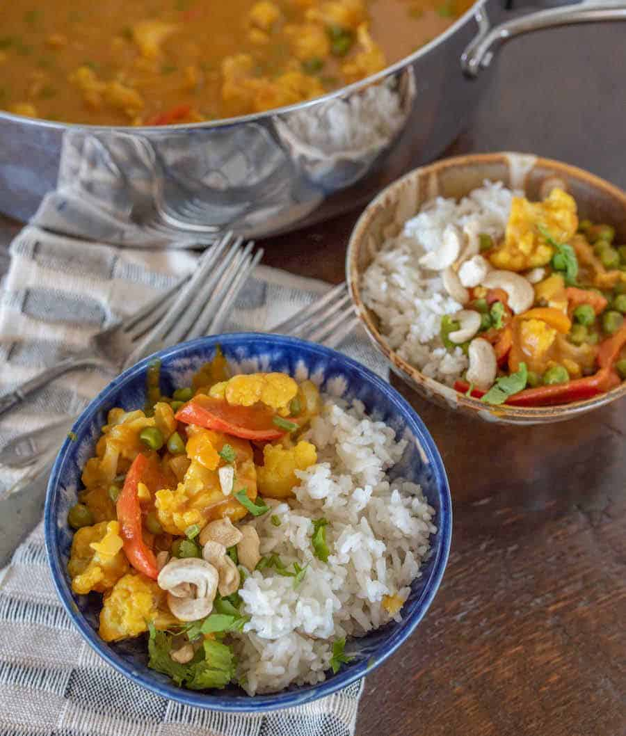 Easy Pumpkin Cauliflower Curry | Must Try Cauliflower & Pumpkin Recipe