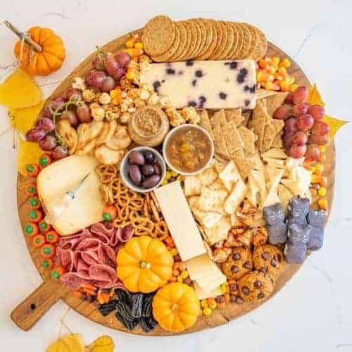 Halloween Cheese Board
