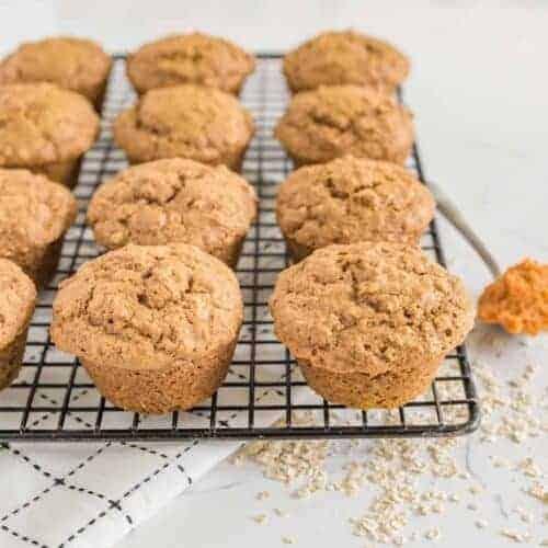 One Bowl Pumpkin Spice Muffins