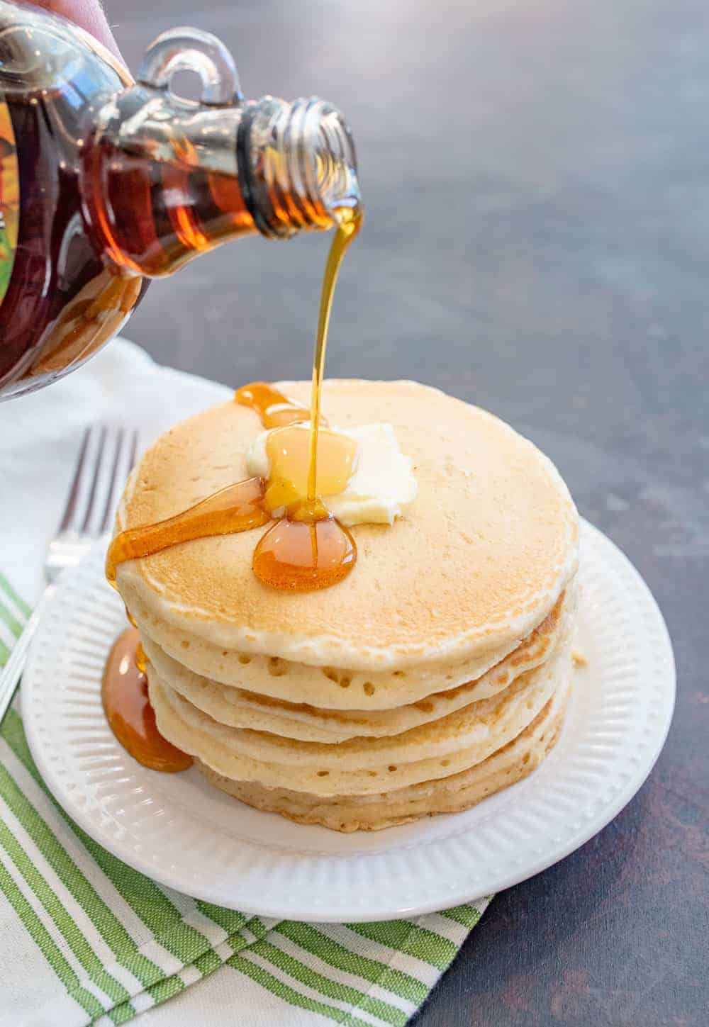Image of Homemade Whole Wheat Pancakes