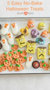 5 Easy No-Bake Halloween Treats | Must Try Halloween Party Food Ideas!