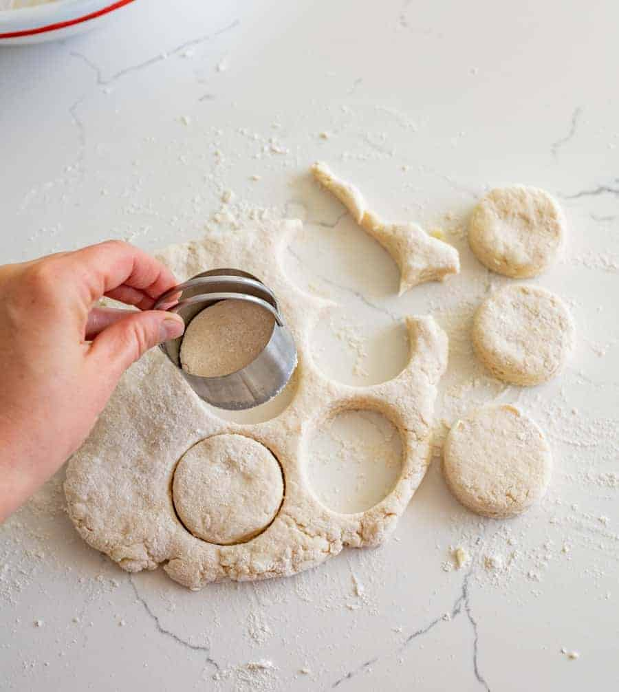 Quick and easy picture tutorial on how to make homemade biscuits with my tips and tricks to make it a simple process that works every time and makes the best biscuits around.