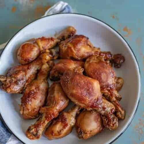5 Ingredient Slow Cooker Chicken Legs