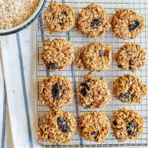 Healthy Vegan Breakfast Cookies