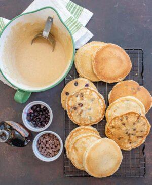 Homemade Whole Wheat Pancakes