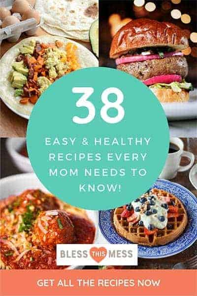 Dinner Ideas for Busy Moms