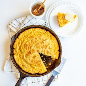Image of skillet cornbread