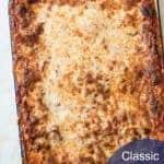 Image of Classic Homemade Lasagna