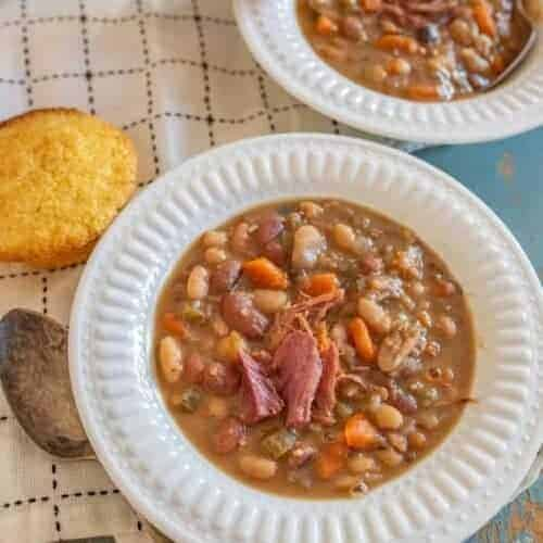 "Hearty ""15 Bean Soup"" in the Instant Pot"