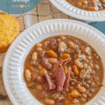 "Hearty ""15 Bean Soup"" Recipe 