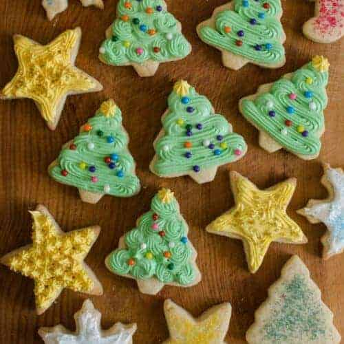 Grandma Lucy's Christmas Sugar Cookies