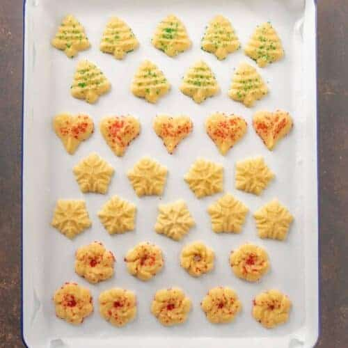 Extra Buttery Spritz Cookies