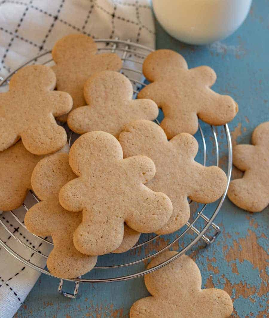 Perfect Gingerbread Cookies Without Molasses