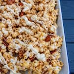 Image of Homemade Caramel Corn with Cinnamon & White Chocolate