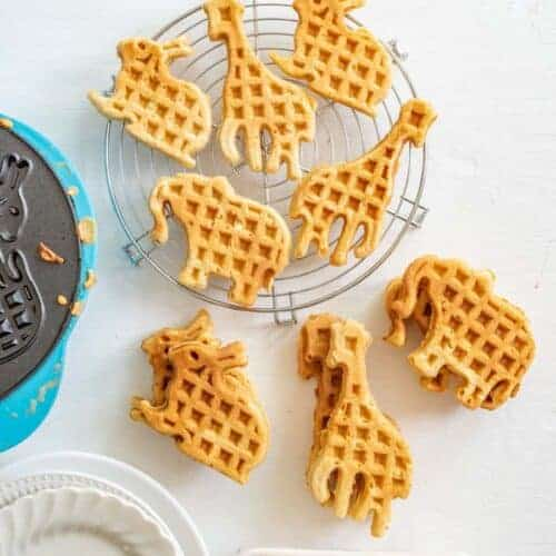 The Best Homemade Whole Wheat Waffles Recipe