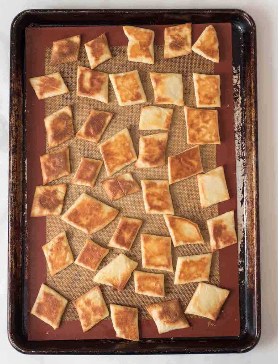 Fathead Cracker Recipe (Grain-Free) | Healthy Snack Ideas