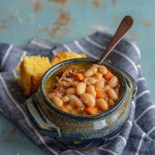 Classic Ham and Bean Soup (Instant Pot or Slow Cooker recipe)