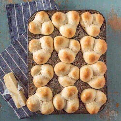 Grandma Lucy's Famous Clover Rolls