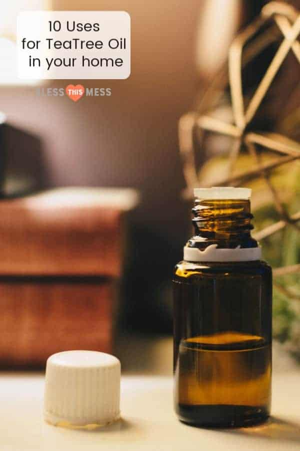Image of a Bottle of Tea Tree Oil