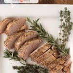 Garlic Herb Crock Pot Pork Tenderloin | Easy Pork Tenderloin Recipe