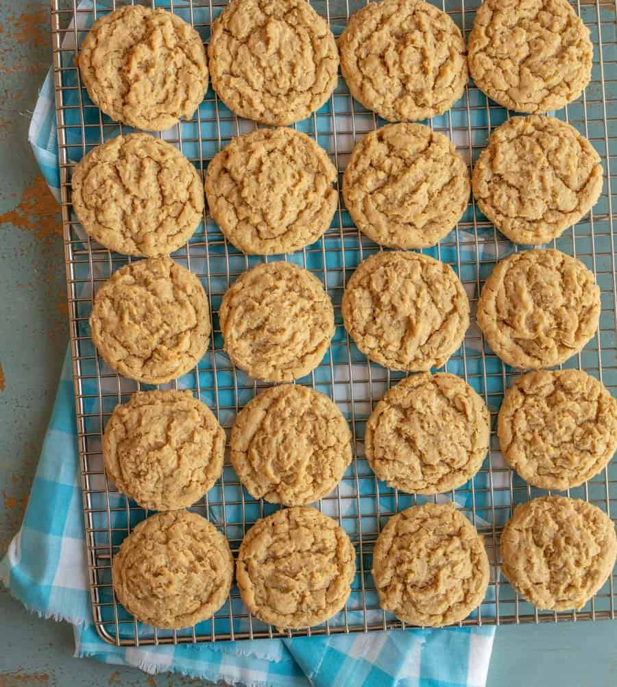 e05c64419256 The BEST Soft   Chewy Peanut Butter Oatmeal Cookies Recipe