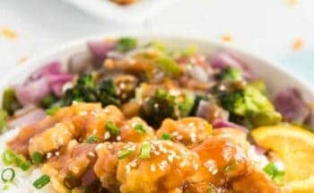 Is there a more satisfying meal than Orange Chicken with Stir-Fry Veggies? I think not... With the best blend of zest, tang, and crunch, this dinner will be a favorite of your family's to make over and over again.