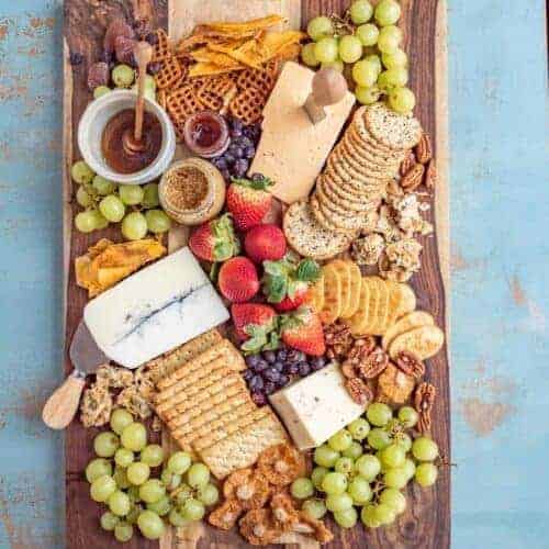 My Favorite Classic Cheese Board