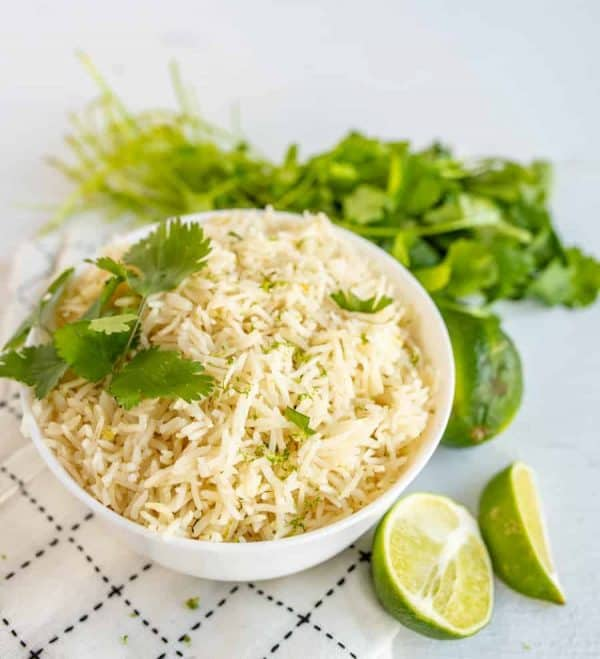 This Cafe Rio Cilantro Lime Rice packs a ton of bright, hearty flavors into a simple-to-make dish. An easy Mexican rice recipe that's so GOOD!
