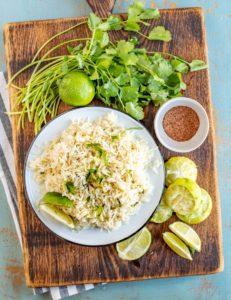 Cafe Rio Cilantro Lime Rice - Easy Mexican Rice Recipe!