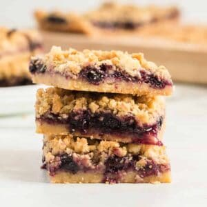 Blueberry Pie Cookie Bars