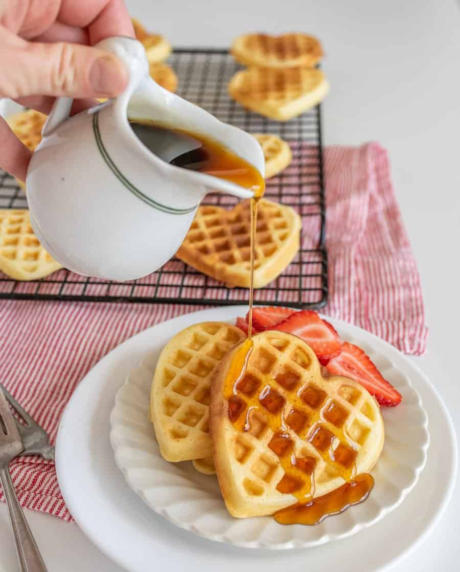 Image of Classic Homemade Waffles