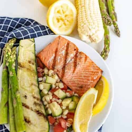 Easy Grilled Salmon Recipe